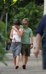 Evangeline Lilly - Bikini Bottom & White Pants in Hawaii -  September 26/27 2005 - HQ x 14