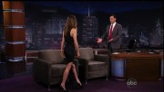 Maggie Q - very leggy @ Jimmy Kimmel 12-1-11 caps Video ADD