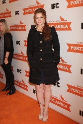 Амбер Тамблин, фото 1136. Amber Tamblyn 'Portlandia' Season 2 Premiere screening in New York - 05.01.2012, foto 1136