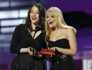 Kat Dennings &amp;amp; Beth Behrs - 2012 People's Choice Awards;  January 11 2012