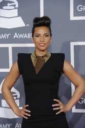 Алиша Киз (Алисия Кис), фото 3085. Alicia Keys 54th annual Grammy Awards - 12/02/2012 - Red Carpet, foto 3085