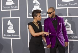 Алиша Киз (Алисия Кис), фото 3040. Alicia Keys 54th annual Grammy Awards - 12/02/2012 - Red Carpet, foto 3040