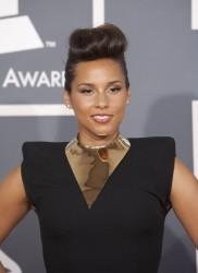 Алиша Киз (Алисия Кис), фото 3043. Alicia Keys 54th annual Grammy Awards - 12/02/2012 - Red Carpet, foto 3043