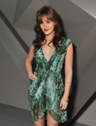 *Adds*Leighton Meester Leggy @ Vera Wang Fall 2012 Fashion Show February 14, 2012 HQ x 8