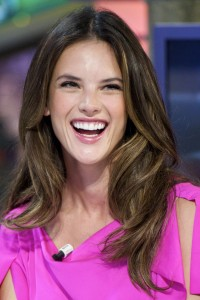 Алессандра Амброзио, фото 8184. Alessandra Ambrosio On 'El Hormiguero' TV Show in Madrid, 05.03.2012, foto 8184