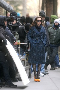 Лейгтон Мистер, фото 6875. Leighton Meester On the Set of 'Gossip Girl' in Manhattan - 05.03.2012, foto 6875