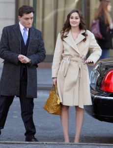Лейгтон Мистер, фото 6846. Leighton Meester On the Set of 'Gossip Girl' in Manhattan - 05.03.2012, foto 6846