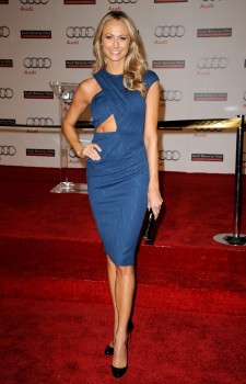 Стейси Кейблер, фото 2962. Stacy Keibler Grand opening of Audi Beverly Hills in LA, 08.03.2012, foto 2962