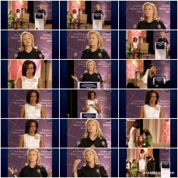 Michelle Obama---dream legs --- Hillary Clinton --- dream woman---International Women's Day 2012
