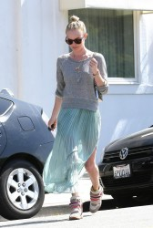 Kate Bosworth - Leaving Byron & Tracey Salon - L.A. - April 10 2012