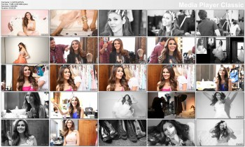 Victoria Justice Seventeen Prom Cover Shoot - Behind The Scenes