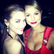 Jaime King and Stacy Keibler