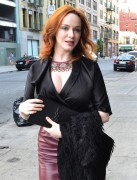 Christina Hendricks - out for dinner in New York 05/11/12