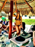 Fergie Wearing a Bikini in Cancun - May 28, 2012