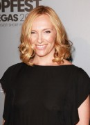 Toni Collette - see-thru top at Tropfest All-Star Competition in Vegas 06/03/12