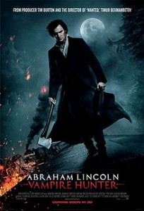 Download Abraham Lincoln: Vampire Hunter (2012) TS 400MB Ganool