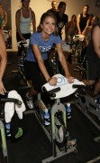 Maria Menounos - Athlete Foundation Charity Spin Ride in West Hollywood 06/27/12