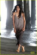 "Freida Pinto - Filming ""Knight of Cups"" in LA on June 26, 2012"