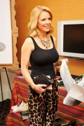 Carrie Keagan - Get Glam Lounge at Fashion Week in NY 09/07/12